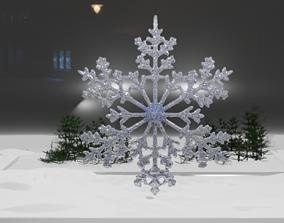 christmas Snowflake 3D