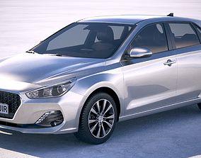 Hyundai i30 2019 3D