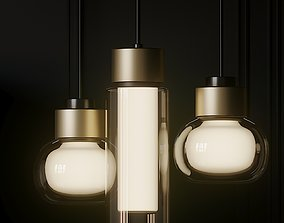 3D Rexa Design NABILA and OSMAN Pendant lamp pendant