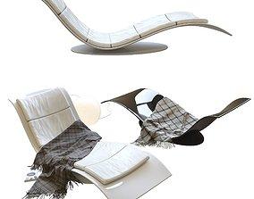 Chaise-longue eli fly 3D