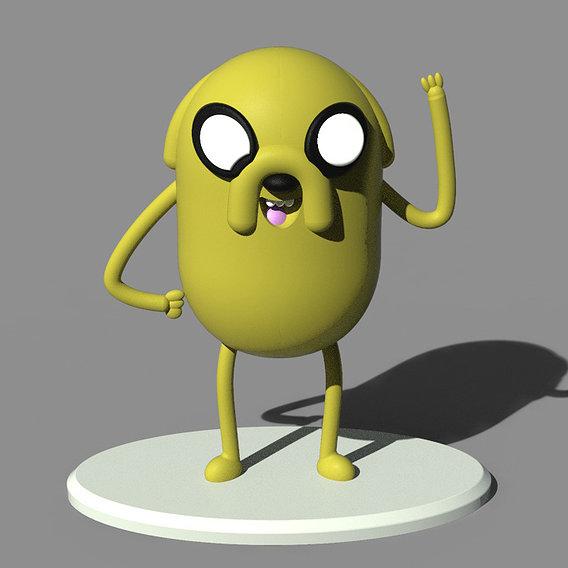 Jake Dog Art Toy
