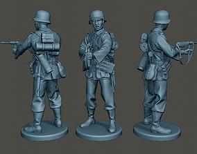German soldier ww2 Shoot middle G2 3D print model