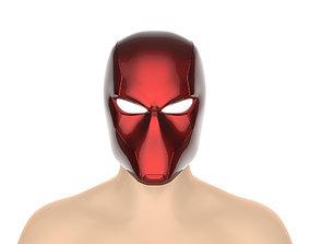 Red Hood helmet Rebirth version 3D print model