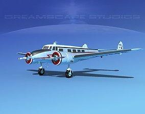 Lockheed L10 Electra Marshall 3D model
