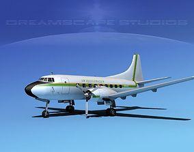 3D model Martin 202 Air Travelers Club