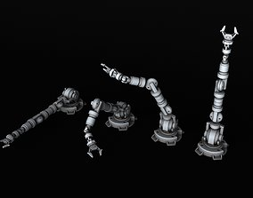 BATTLETECH Mechanical arm manipulator 3D printable model