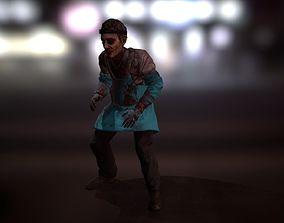 3D model PBR Game-ready Zombie Butcher
