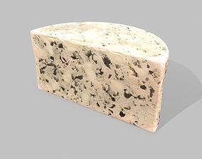 Roquefort Cheese 3D asset
