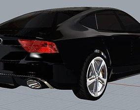 3D model Audi RS7 Quattro