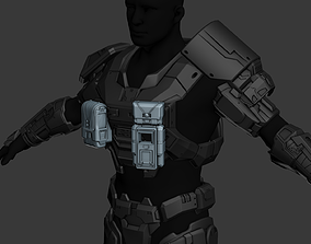 Modular Reach UA Counterassault Wearable 3D Print