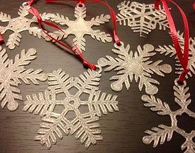 3D print model Snowflake Ornaments