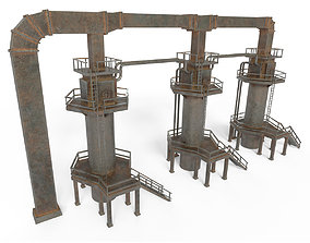 3D asset Industrial facility