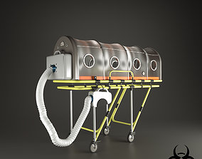 isolation stretcher 3D model