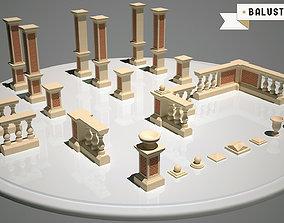 3D model Classic Balustrade Generator