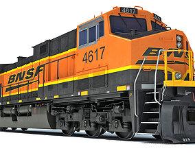 BNSF Diesel Locomotive AC4400CW 3D