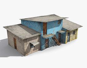 Slum d 3D model