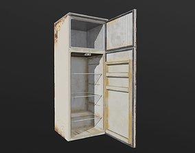 Fridge grocery-display 3D model low-poly PBR