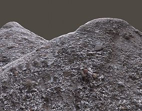 game-ready Pile of rocks 3d scanned