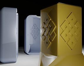 Eternity candle 3D print model