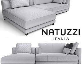 3D model Sofa NATUZZI Melpot sectional 3