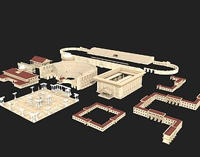 3D ancient buildings
