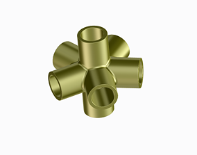 3D printable model Innovative Pipe Fitting Type A