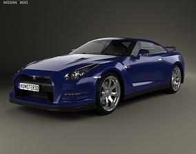 Nissan GT-R R35 2013 3D model