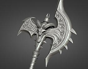 3D print model Shadowmourne axe