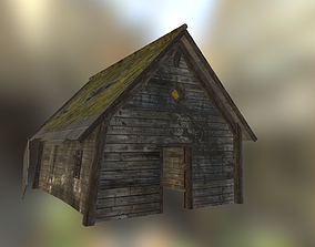 Old forest house 3D model