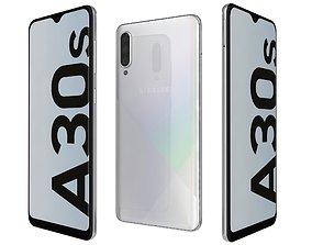 3D model Samsung Galaxy A30s Prism Crush White