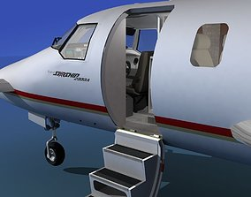 Beechcraft Starship 2000 T01 3D