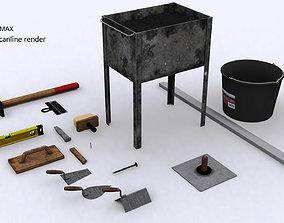 3D asset construction tool SET