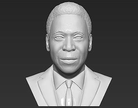 Pele bust 3D printing ready stl obj formats famous