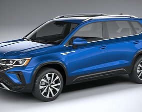 Volkswagen Taos 2022 3D