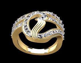 3D printable model Gold Ring 157