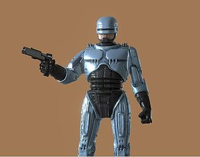3D printable model ROBOCOP INSPIRITED FIGURE