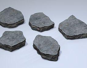 3D Rock Plates