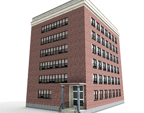 FREE Nyc Building 3D asset
