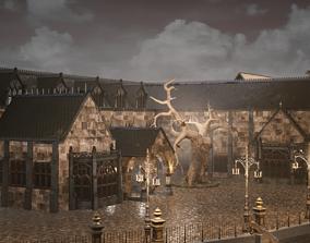 Bloodborne style Victoran Building 3D model