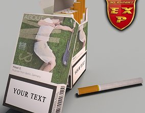 3D model LM About cigarette pack