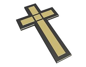 jesus Cross 3D asset realtime
