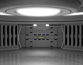 Spaceship Room 3D