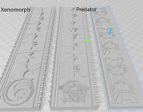 AVP Diorama Element Wall Panels 3D print model