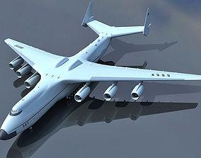 CCCP Antonov An-225 3D model
