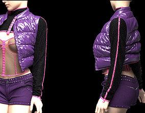 Womens clothing Marvelous Designer project female 3D