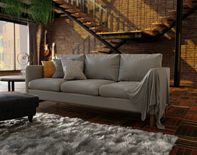 Indivi Sofa Replica 3D model