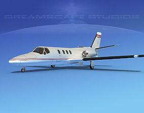 3D Cessna 500 Citation I V12