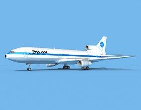 3D model Lockheed L-1011 Pan American