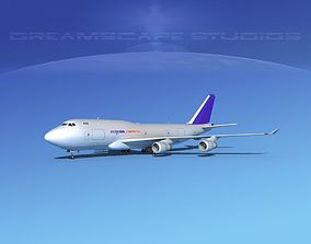 Boeing 747-400 FedEx 3D