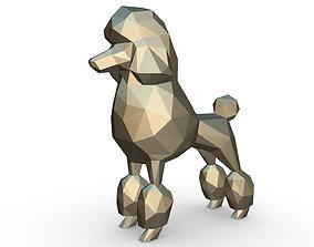 Poodle figure 3D print model